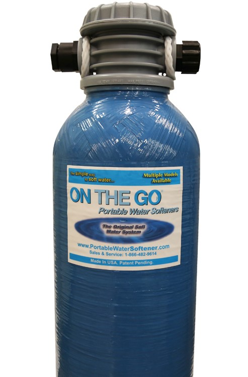 Who can benefit from a portable water softener?